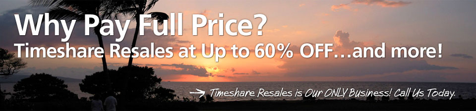 Timeshare Broker Sales